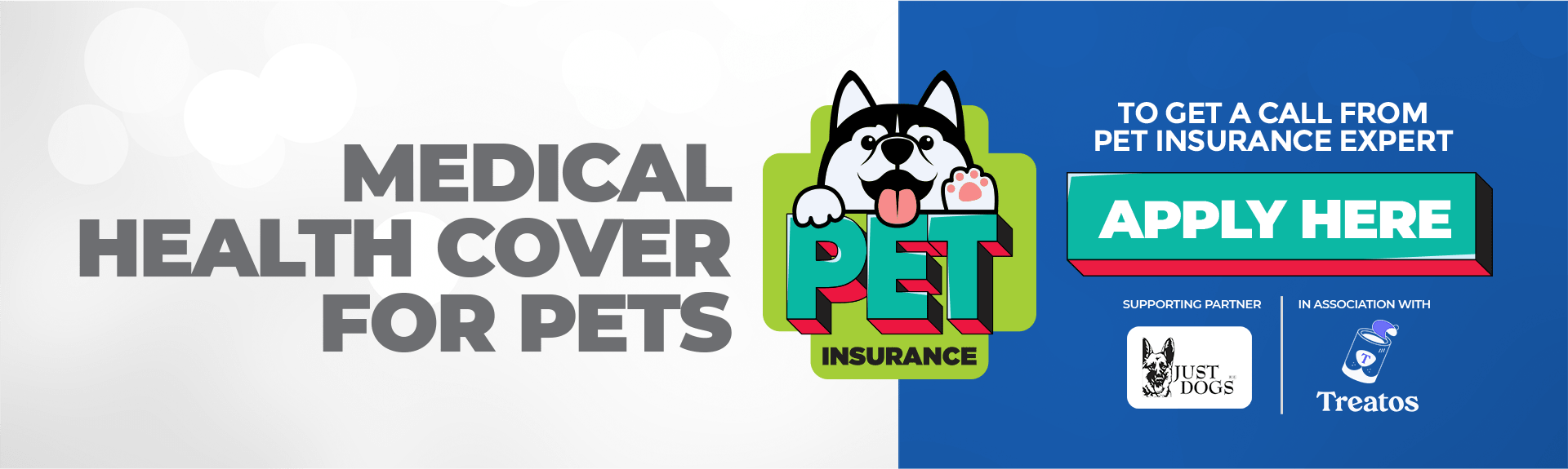 medical health cover for pets